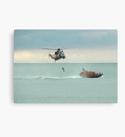 Sea Rescue Eastbourne Canvas Print