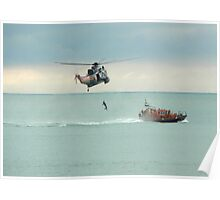 Sea Rescue Eastbourne Poster