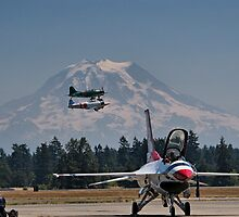 Falcons, Zeros and Mountains by Bryan Peterson
