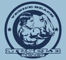 Venice Beach Muscle Arnold by MuralDecal