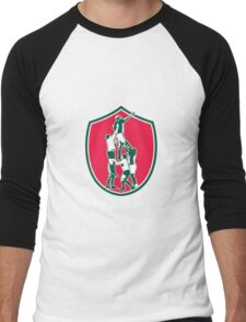 Rugby Lineout Catch Shield Men's Baseball ¾ T-Shirt