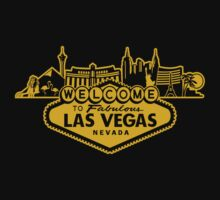 Welcome to Las Vegas (Golden Edition) by MuralDecal