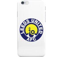Leeds United Peacock Badge iPhone Case/Skin