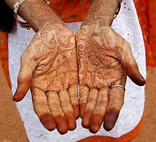 Hindi Henna Hands by pakman