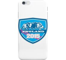 Rugby Scrum England 2015 Shield iPhone Case/Skin