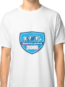 Rugby Scrum England 2015 Shield Classic T-Shirt
