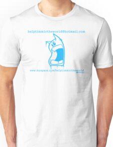 timmi outline blue Unisex T-Shirt