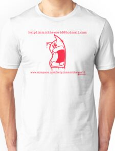 timmi outline red Unisex T-Shirt