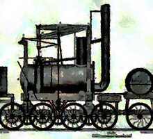 Industrial Revolution - Puffing Billy by Dennis Melling