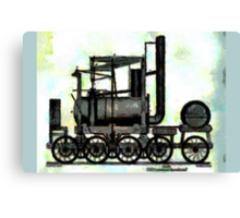 Industrial Revolution - Puffing Billy Canvas Print