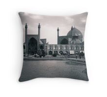 Esfahan, Paris of the Middle East Throw Pillow