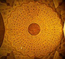 Dome, Esfahan, Iran by Desmond Kavanagh