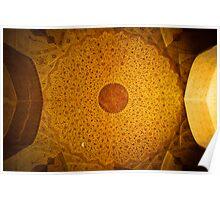 Dome, Esfahan, Iran Poster