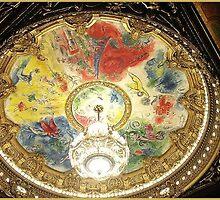 Ceiling of Opera Garnier, Paris by chord0