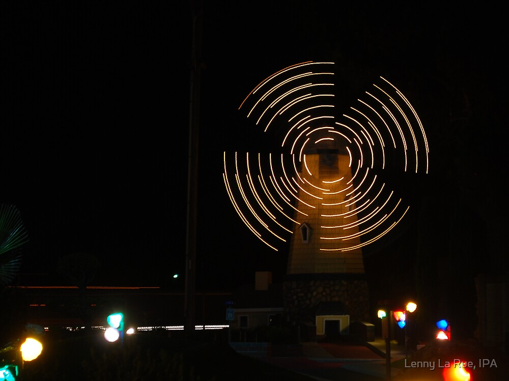 windmill on miniture golf, Fantasia Fun Center, Sac., CA (as is) by Lenny La Rue, IPA