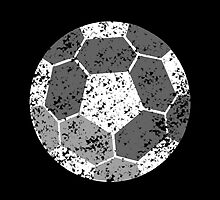 Soccer Ball with distressed look by jazzydevil