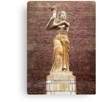 Liberty Statue, Utrecht Canvas Print
