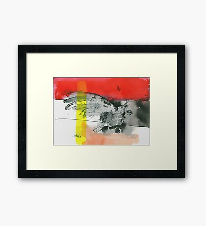 tenth and mill Framed Print