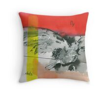 tenth and mill Throw Pillow