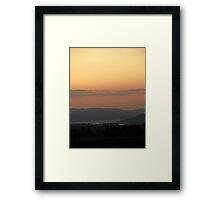 Orange Supreme - Donegal Ireland  Framed Print