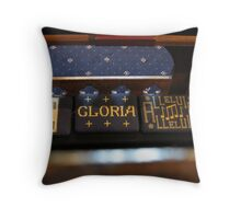Church Pew Throw Pillow
