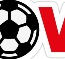 Football – Love / Soccer – Love Sticker