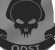 Halo O.D.S.T Feet First Into Hell Sticker
