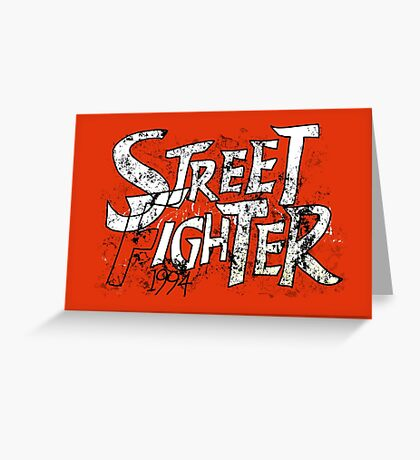 STREET FIGHTER (1994) Greeting Card