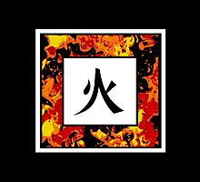 Fire Kanji by 7RayedDesigns