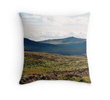 The Wicklow Mountains Throw Pillow