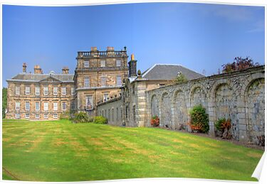 Hopetoun House III by Tom Gomez