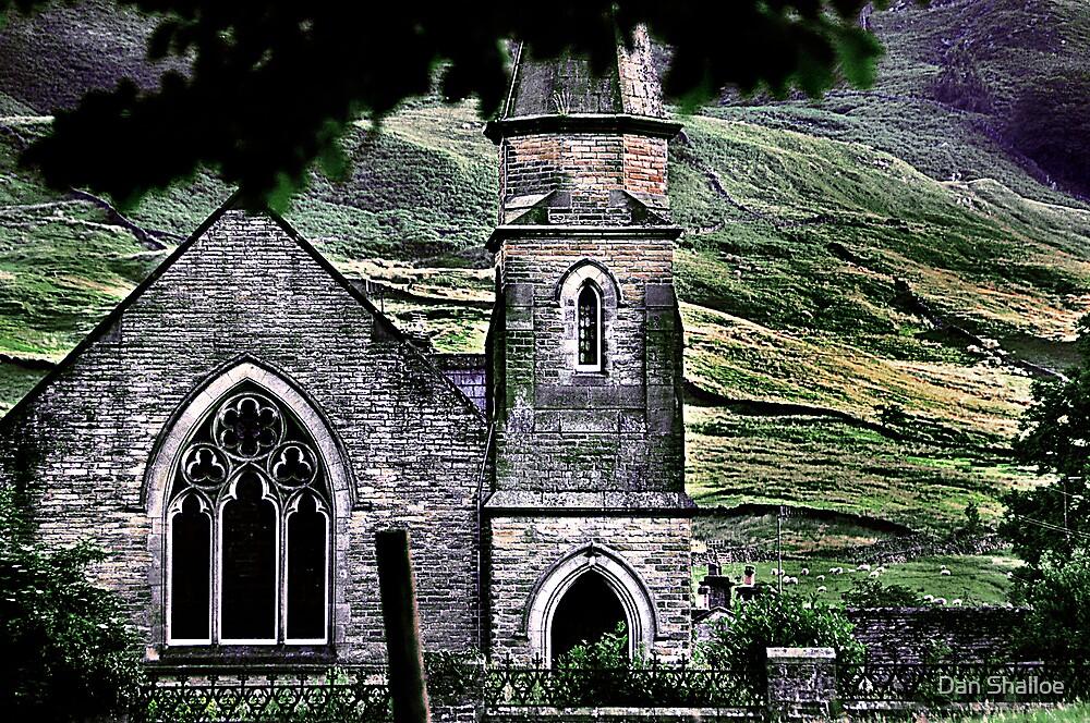 the church in Burnsall by Dan Shalloe