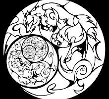 White Moonlit Pack by margiebunny