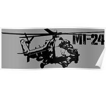 Mi-24 Poster