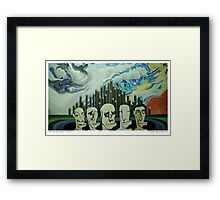 THE MELBOURNE THUGS Framed Print