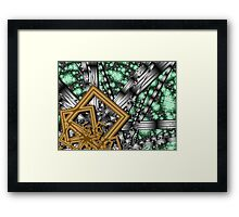 Schroedinger's Cat - high resolution Framed Print