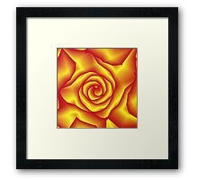 A rose for lacitrouille Framed Print