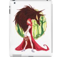Lil red riding hood  iPad Case/Skin