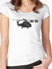 Mi-24 Women's Fitted Scoop T-Shirt