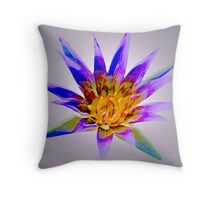 Delightful Lily Throw Pillow