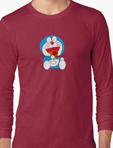 Rainbow Doraemon Long Sleeve T-Shirt