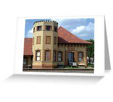 Historic Train Depot Passenger Station II Greeting Card