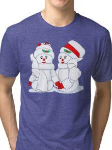 Snowcouple Tri-blend T-Shirt