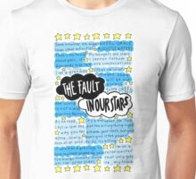 The Fault In Our Stars quotes collage Unisex T-Shirt