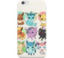 Eeveelutions - Pokemon  iPhone Case/Skin