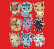 Eeveelutions - Pokemon  Kids Clothes