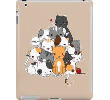 Meowntain of cats iPad Case/Skin