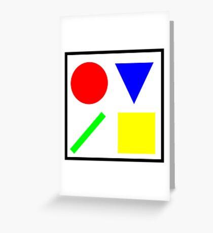 Primary Basics Greeting Card