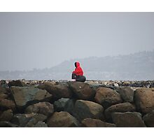 Musing On The Jetties Photographic Print