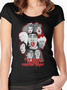 rocky horror picture show 40th anniversary tribute Women's Fitted Scoop T-Shirt